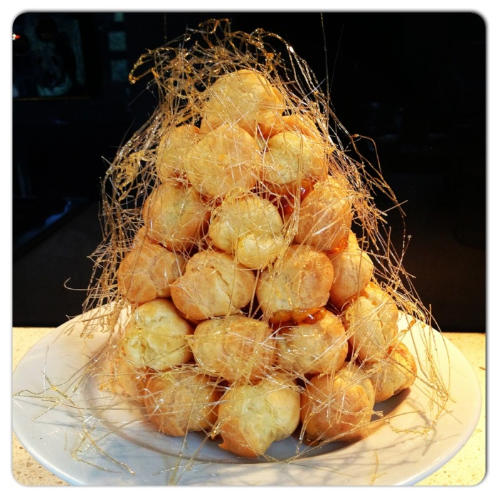 Image result for spun sugar croquembouche